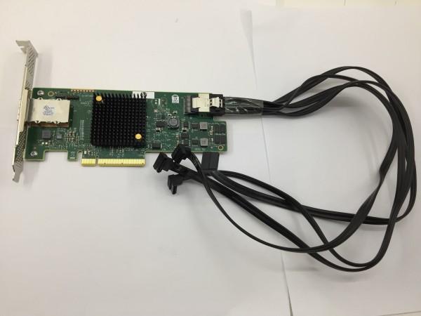 HP Raid Controller SAS9217-4i4e 6Gb/s PCIe x8 SAS SATA 792099-001 inkl Kabeln